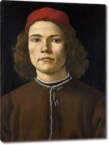 Боттичелли Сандро. Портрет юноши