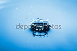 Искусство воды брызги фон
