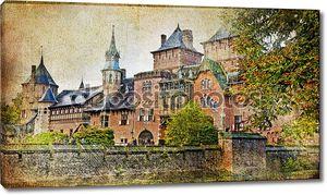 Средневековый замок - старинные Художественная фотография