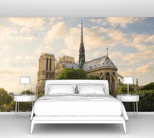 Панорама с видом на собор