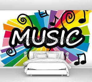 Music надпись