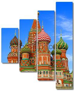 Россия Москва Красная площадь собор Богородицы Одигитрия, кафедральным