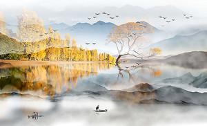 Ранняя осень на реке