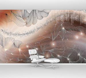 Lusso II-переплетение светящихся линий