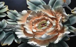 Керамический цветок