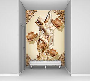 Статуэтка индийской танцовщицы