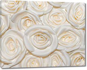 задний план Фон из искусственных роз