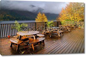 Осенний пейзаж в горах