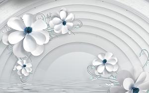 Цветы с арочным сводом