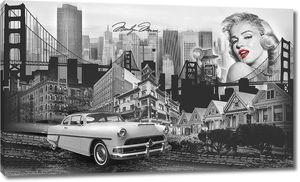Коллаж Нью-Йорк