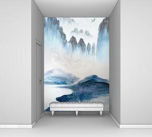 Стена из скал