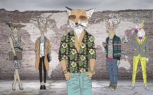 Мода по звериному