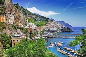 Побережье  древней Италии