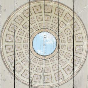 Небо в центре купола