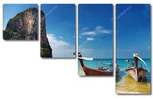 Тропический пляж, Андаманское море, Таиланд