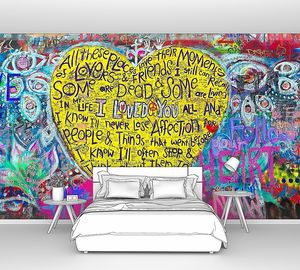 Джона Леннона стена в Праге