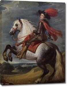 Крайер Каспар. Конный портрет Филиппа IV