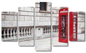 Красная будка -лондонская традиция