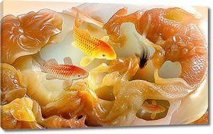 Янтарные рыбки