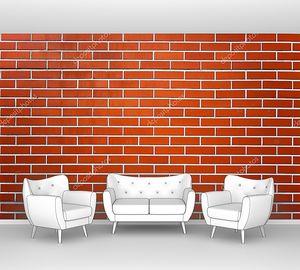 Ровная кирпичная стена