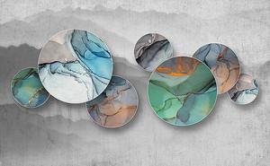 Срезы камней в кругах