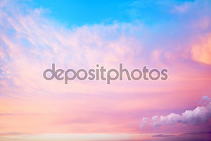 Розовое небо