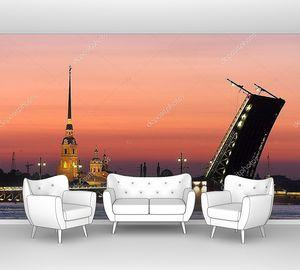 Санкт Петербург в белые ночи
