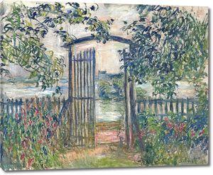 Клод Моне. Садовые ворота в Ветее