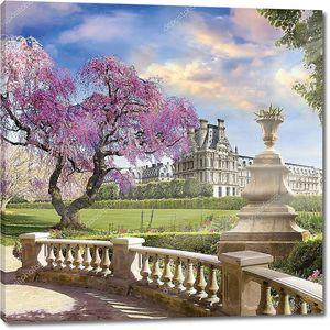 В саду Лувра