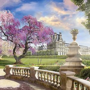 В саду Лувр