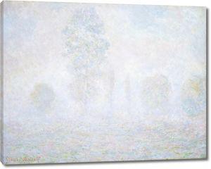 Моне Клод. Утро, Дымка, 1888