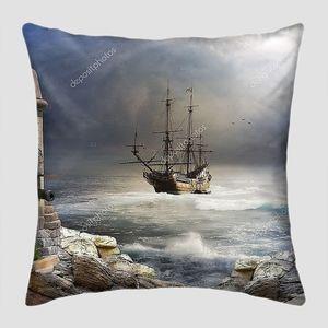Пиратское судно в бухте