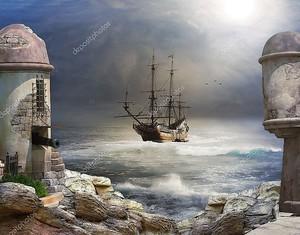 Он пират залив