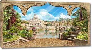 Арка с прекрасным видом на старый город