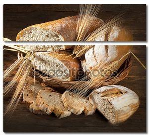 Натюрморт с нарезанным хлебом