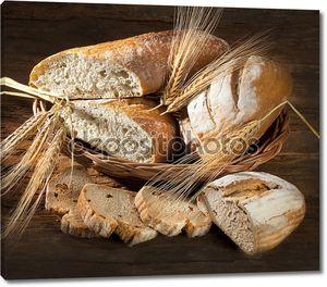 Натюрморт с хлебом и уши