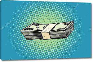 Упаковка банкнот 100 долларов