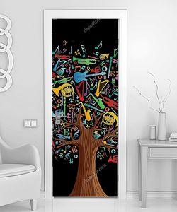 Абстрактное музыкальное дерево