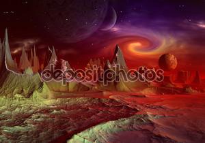 Андара чужой планете часть 2