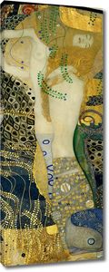 Густав Климт. Водяные змеи I