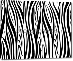 Бесшовный образец зебры