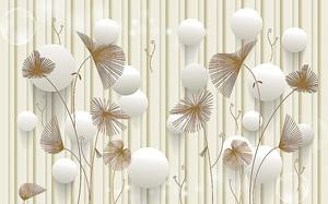Колючие цветы с шариками