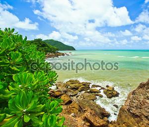 Красивый вид на море в Таиланде