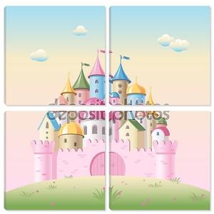 Сказочный замок для девочек