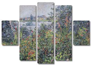 Моне Клод. Цветы, Ветей, 1881