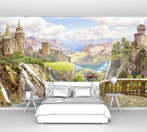 Вид с балкончика на замки