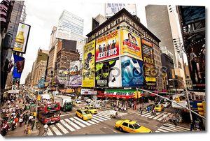 Отличено с Бродвей Таймс-сквер