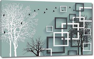 Деревья с квадратами