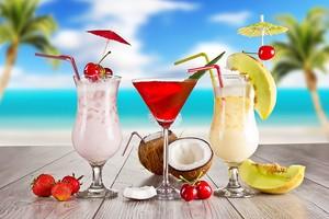 Вкусные коктейли со льдом