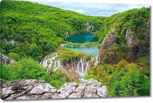 Водопады и Плитвицкие озера